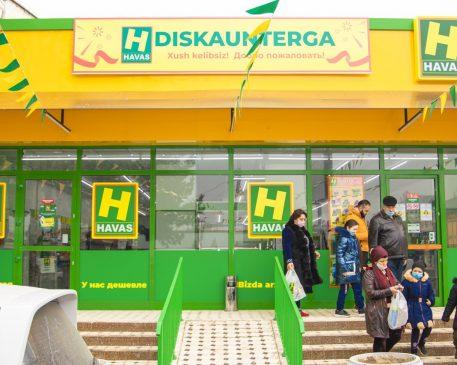 Открытие 114 магазина Havas