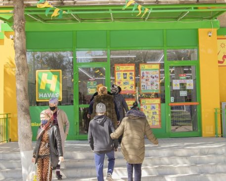 Открытие 123 магазина Havas