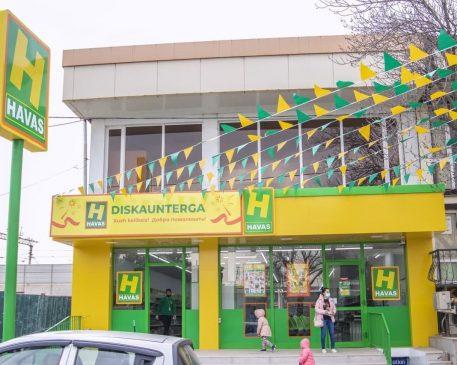 Открытие 125 магазина Havas
