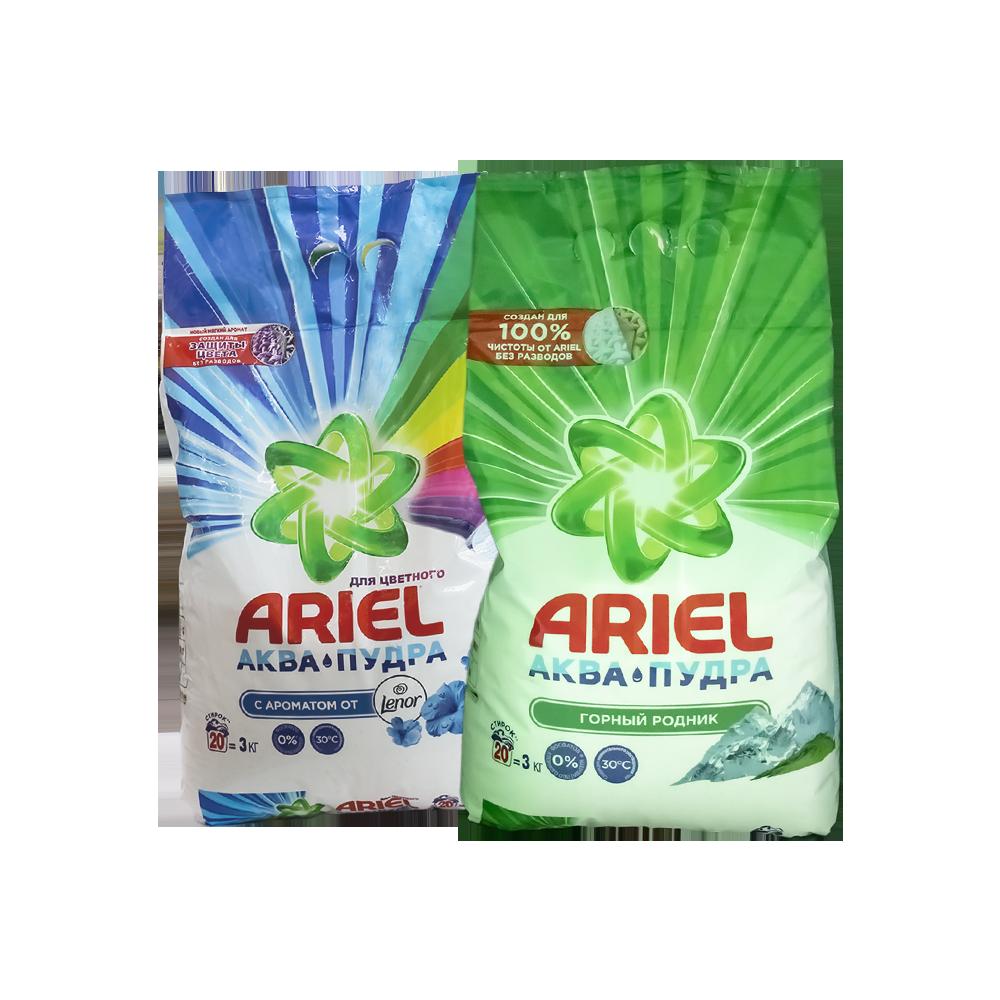 Ariel kir yuvish kukuni avtomat 3 kg