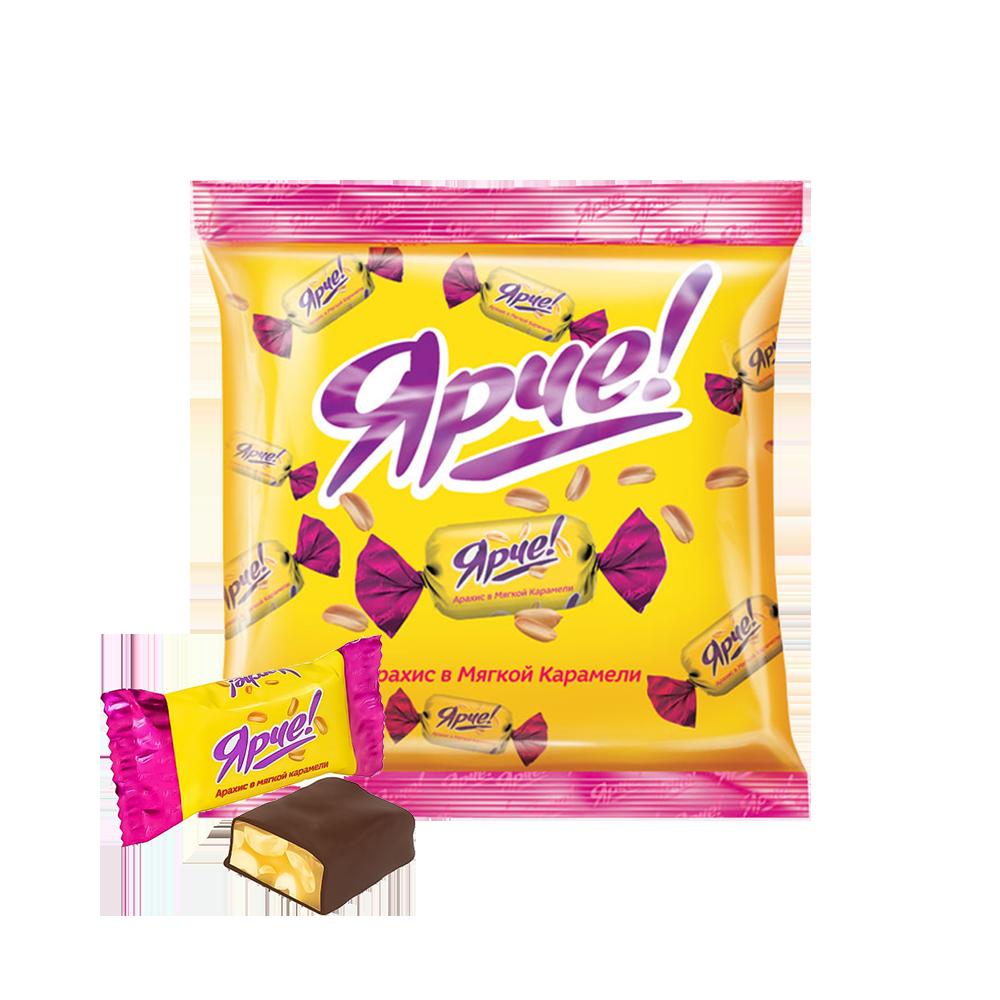 Yarche yeryong'oqli shokoladli konfetlar 500 g